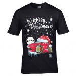 Premium Koolart Christmas Santa Hat Design & Mazda MX5 Eunos car gift mens t-shirt top